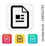publication file icon. vector...