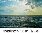Nature Background. Sea And Blue ...
