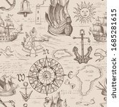 vector abstract seamless... | Shutterstock .eps vector #1685281615