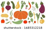 big set of colorful hand drawn... | Shutterstock .eps vector #1685312218