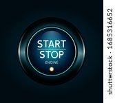start stop engin button 3d...   Shutterstock .eps vector #1685316652