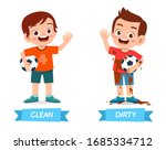 cute example of opposite word...   Shutterstock .eps vector #1685334712