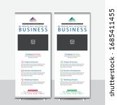 corporate business roll up... | Shutterstock .eps vector #1685411455