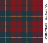 tartan plaid with red  blue and ...   Shutterstock .eps vector #1685633722