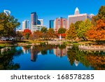 Charlotte City Skyline From...