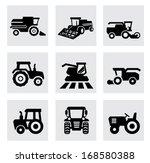 vector black agricultural... | Shutterstock .eps vector #168580388
