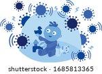 why children are better... | Shutterstock .eps vector #1685813365