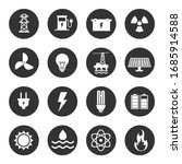 energy icon set.  electricity...   Shutterstock .eps vector #1685914588