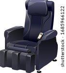 illustration of massage chair ...   Shutterstock .eps vector #1685966122