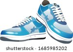 illustration of sneakers  with...   Shutterstock .eps vector #1685985202