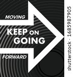 arrow keep on going moving... | Shutterstock .eps vector #1685987905