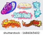 set of creative typography  ...   Shutterstock .eps vector #1686065602