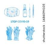 Coronavirus Hand Drawn...