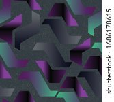 holographic magic pattern.... | Shutterstock .eps vector #1686178615