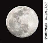 vector illustration of moon.... | Shutterstock .eps vector #1686260578