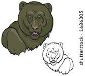 bear mascot for sport teams....   Shutterstock .eps vector #1686305