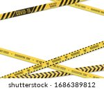 the intersecting yellow in a... | Shutterstock .eps vector #1686389812
