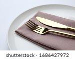 Stylish Elegant Cutlery With...