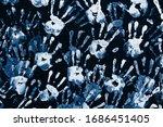 Human Color Handprints...