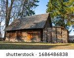 Old Traditional Estonian Farm...