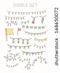 Doodle Set   Bunting And...