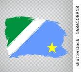 flag of  mato grosso do sul... | Shutterstock .eps vector #1686508918