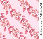 vector seamless pattern with... | Shutterstock .eps vector #1686542668