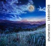 Full Moon In Sky Over The Top...
