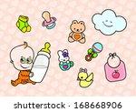 Cute Cartoon Baby Character...