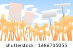vector flat cartoon...   Shutterstock .eps vector #1686735055