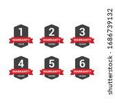 set of minimalist 1  2  3  4  5 ... | Shutterstock .eps vector #1686739132
