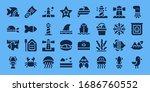 modern simple set of marine... | Shutterstock .eps vector #1686760552