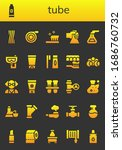 tube icon set. 26 filled tube... | Shutterstock .eps vector #1686760732