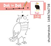 dot to dot educational game and ... | Shutterstock .eps vector #1686766738