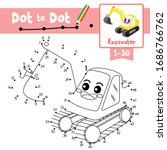 dot to dot educational game and ... | Shutterstock .eps vector #1686766762