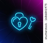 Perfect Match Neon Sign. Heart...