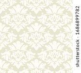 damask flower pattern in vector ... | Shutterstock .eps vector #1686899782