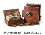 Vintage Film Photo Camera And...