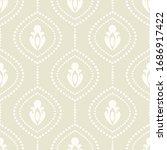 damask flower pattern in vector ... | Shutterstock .eps vector #1686917422