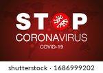 coronavirus. stop. covid 19....   Shutterstock .eps vector #1686999202