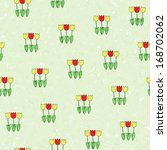 seamless pattern   green old... | Shutterstock .eps vector #168702062
