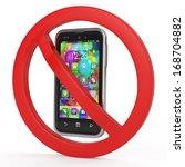 turn off mobile phones ... | Shutterstock . vector #168704882