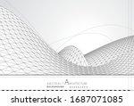 3d illustration architecture...   Shutterstock .eps vector #1687071085