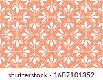 flower geometric pattern.... | Shutterstock . vector #1687101352