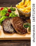 Barbecue Beef Steak French...