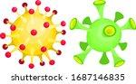 vector illustration of two... | Shutterstock .eps vector #1687146835