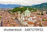 Brescia  Italy. Cathedral Of...