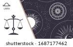 zodiac background.... | Shutterstock .eps vector #1687177462