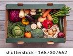 fresh organic vegetable...