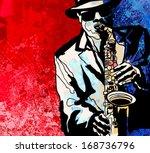 vector illustration of a jazz